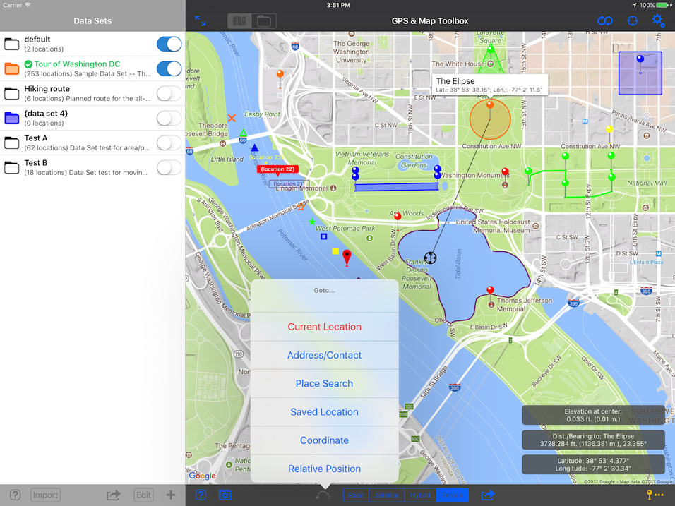 GPS & Map Toolbox - iOS - Products - Audama Software