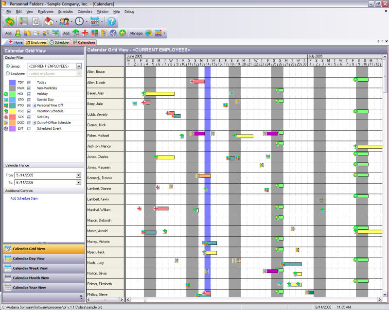 personnel folders products audama software